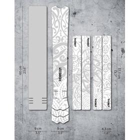 DYEDBRO Maori Kit di Protezione del Telaio, trasparente/bianco